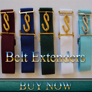 Masonic Belt Extenders