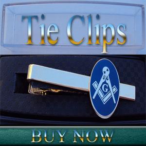 Masonic Tie Clips