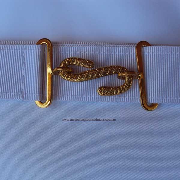 Masonic Regalia - Royal Arch Companion Apron And Sash Set (Lambskin)(5102)