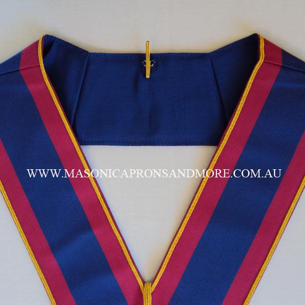 Masonic Regalia Mark Provincial Undress Apron(Lambskin), Collar, Jewel &  Gloves Set (5107-F)