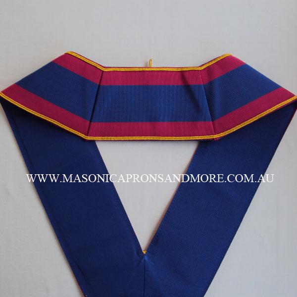Masonic Regalia Mark Provincial Undress Apron(Imitation) & Collar Set  (5107-IMI)